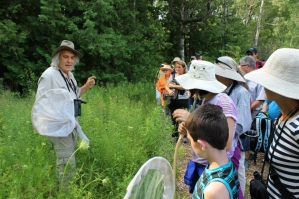 Famed Naturalist Leads Walk in Batawa