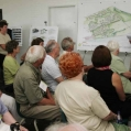 Mrs. Bata, BDC and their planning team unveil the plans for Batawa's future