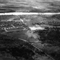 An aerial photo of Batawa in the past